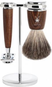 Mühle Rytmo Barbersett med Pure badger kost og stativ