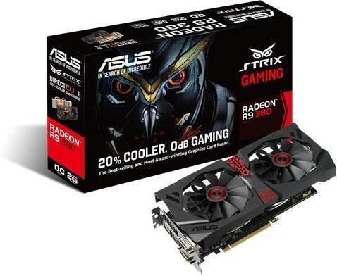 Asus Radeon R9 380 2GB OC STRIX