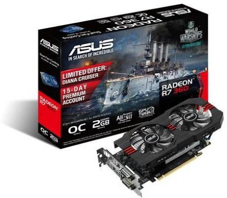 Asus Radeon R7 370 2GB OC STRIX
