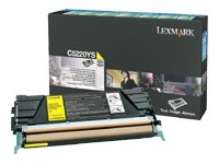 Lexmark C522n Gul
