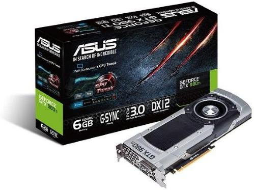 Asus Geforce GTX980 TI 6GB