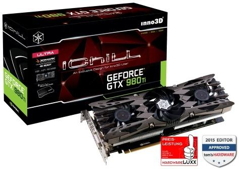 Inno3D i-Chill GeForce GTX980 TI 6GB