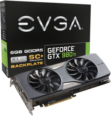 EVGA GTX 980 TI 6GB Superclocked+
