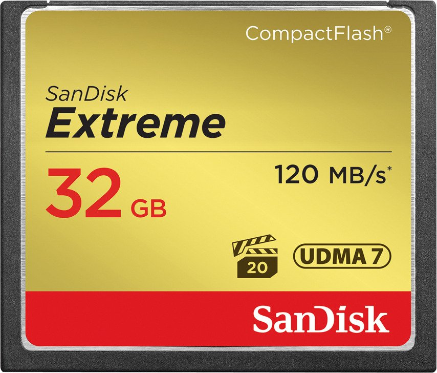 SanDisk Compact Flash Extreme 32GB