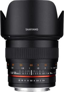 Samyang 50mm f/1.4 AS UMC Til Samsung