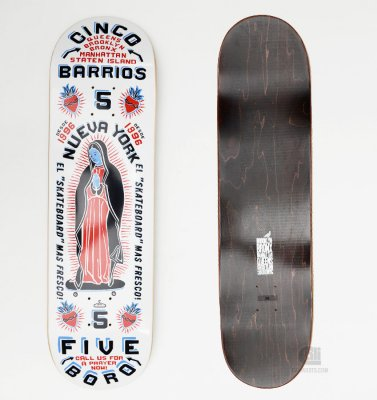 5Boro NYC Cinco Barrios Deck