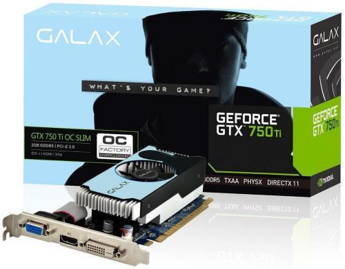 KFA2 GeForce GTX 750 OC Slim 2GB
