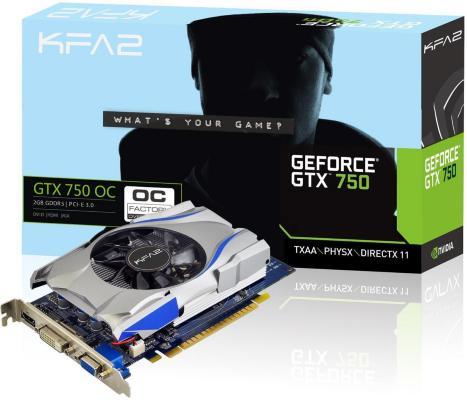 KFA2 GeForce GTX 750 OC 2GB