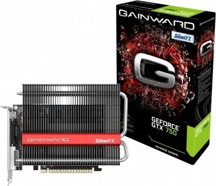 Gainward GeForce GTX 750 2GB SilentFX