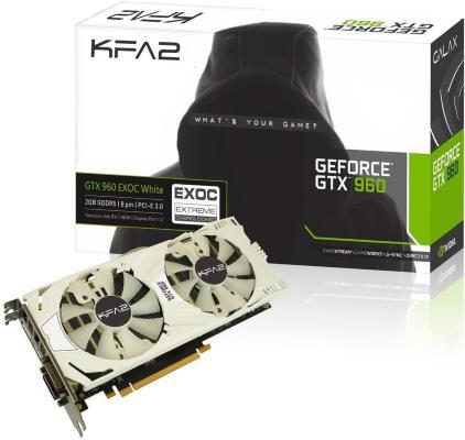KFA2 GeForce GTX 960 EX OC 2GB (96NPH8DVE8DC)