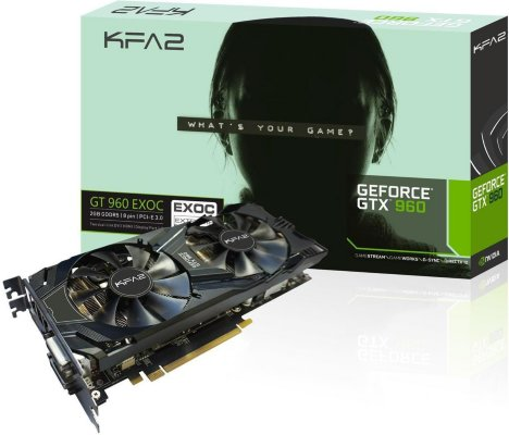 KFA2 GeForce GTX 960 EX OC 4GB