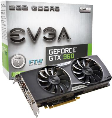 EVGA GeForce GTX 960 FTW ACX