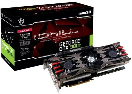 Inno3D GeForce GTX 980 Ti iChill X4 Ultra