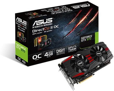 Asus Asus GTX 970 4GB Black