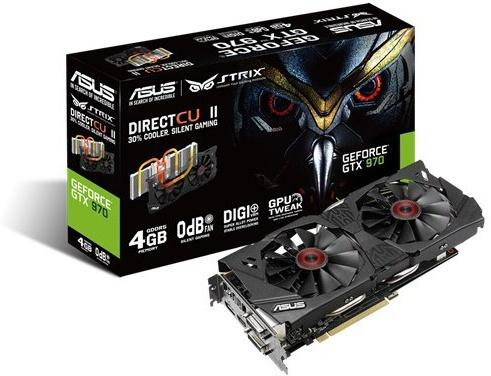 Asus GTX 970 Strix 4GB