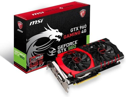 MSI GeForce GTX 960 Gaming 4GB