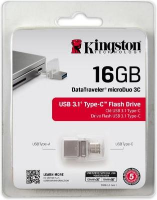 Kingston USB 16GB DT microDuo 3C