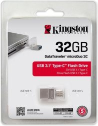 Kingston DataTraveler MicroDuo 3C 32GB