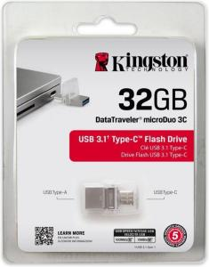 Kingston USB 32GB DT microDuo 3C