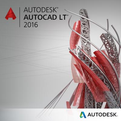 Autodesk AutoCAD LT 2016 SLM Svensk