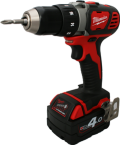 Milwaukee M18 BDD-402C (2x4,0Ah)