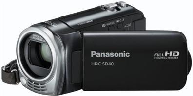 Panasonic HDC-SD40EG-K