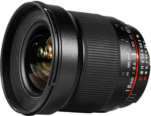 Samyang 16mm F2.0 ED AS UMC CS for Canon