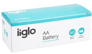 iiglo AA Batteri 40pk