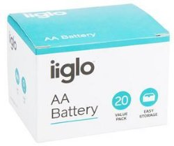 iiglo AA Batteri 20pk