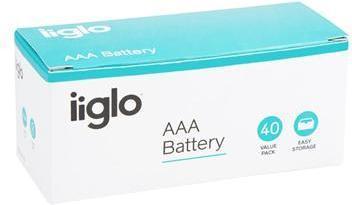 iiglo AAA Batteri 40pk