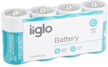 iiglo C Batteri 4pk