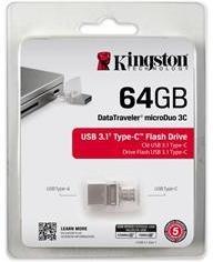 Kingston USB 64GB DT microDuo 3C
