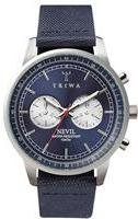 Triwa Blue Steel Nevil Navy Canvas Class