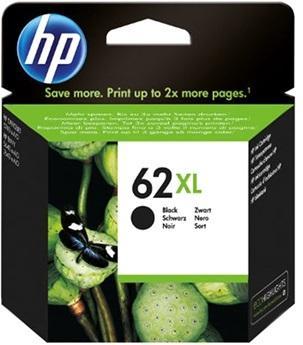 HP 62XL Svart
