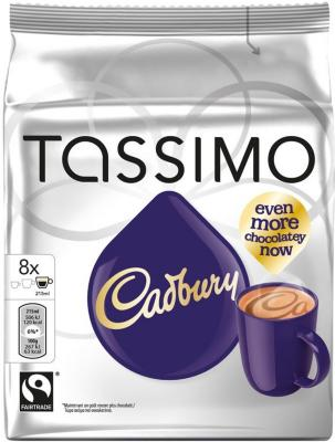 Tassimo kapsler Cadbury kakao