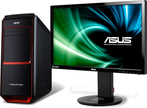 Acer Predator G3-605 (DT.SQYEQ.195) + VG248QE