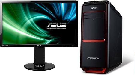 Acer Predator G3-605 (DT.SQYEQ.207) + VG248QE
