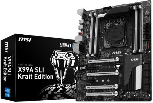 MSI X99A SLI Krait Edition