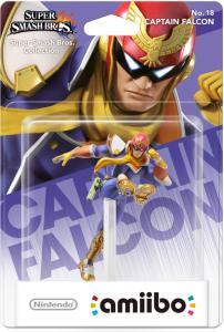 Nintendo Amiibo karakter - Captain Falcon