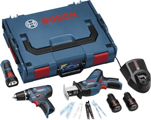 Bosch Sett 10,8V GSR (2x2,0Ah)