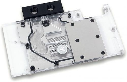 EKWaterBlocks EK-FC R9 Fury X - Nickel 1/4""