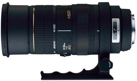 Sigma 50-500mm F4-6.3 APO EX DG HSM for Canon