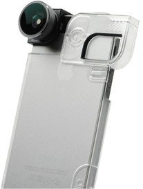 olloclip 4-i-1 til iPhone 5/5s med Quick Flip Case
