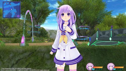 Hyperdimension Neptunia Re;Birth3: V Generation til Playstation Vita