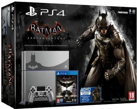 Sony PlayStation 4 (inkl. Batman Arkham Knight)