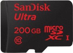 SanDisk Ultra MicroSDXC UHS-I 200 GB