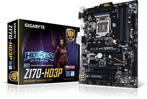 Gigabyte GA-Z170-HD3P