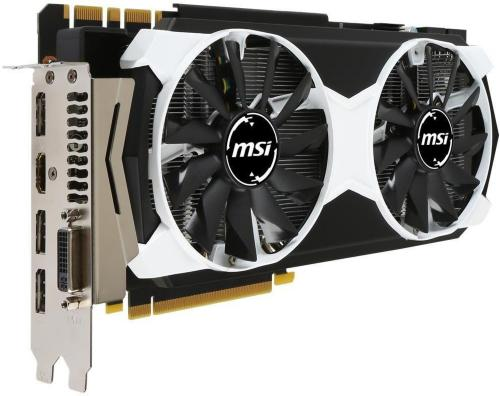 MSI GeForce GTX 980 4GB ARMOR 2X