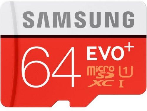 Samsung Evo+ microSDXC 64GB UHS-I