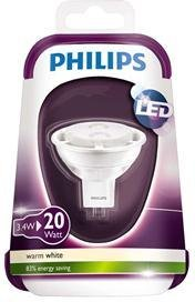Philips LED 20W GU5.3 12V MR16 36D 2700K
